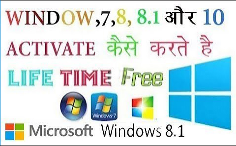 Windows 8.1 Activator Key