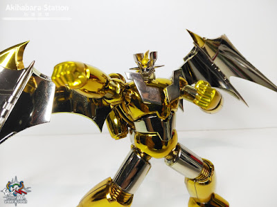 Review de Super Robot Chogokin Shin Mazinger Z Gold ver.  ~ Tamashii World Tour ~