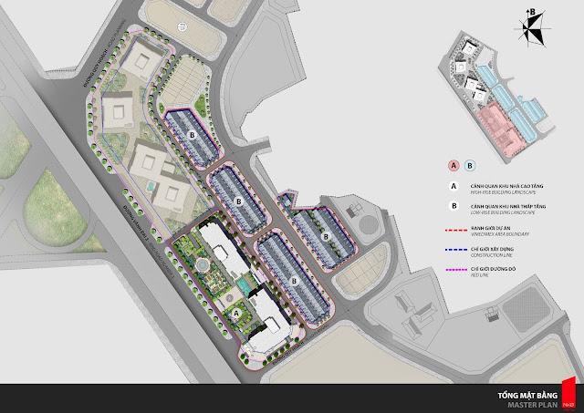 Phối cảnh tổng thể quy hoạch dự án Athena Fulland Đại Kim