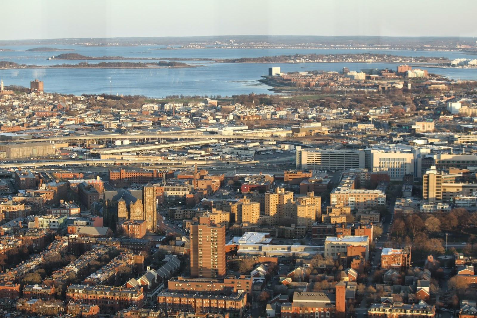 Subir ao SKYWALK OBSERVATORY, uma vista 52 andares acima das ruas de Boston | EUA