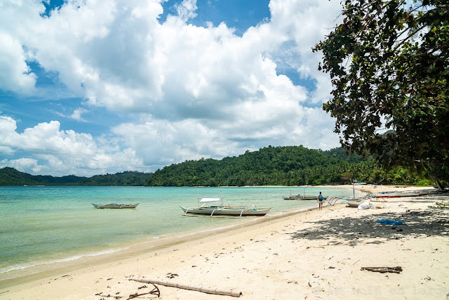 Nao Nao beach-Port Barton-Palawan-Philippines