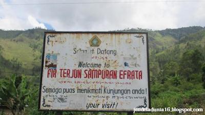 Air Terjun Efrata, Keindahan Dari Pulau Samosir