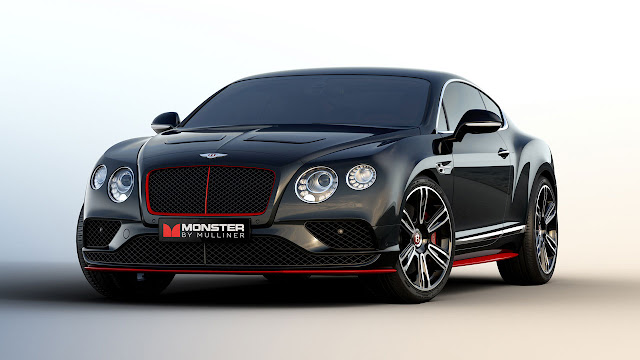 "Bentley and Monster debut ""Monster by Mulliner"" Continental GT V8 S featuring pure monster sound at CES 2016"