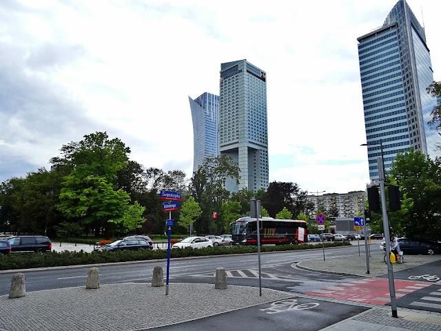 Warszawa Złota 44 budynek