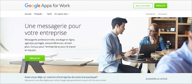 App for works google la suite bureautique