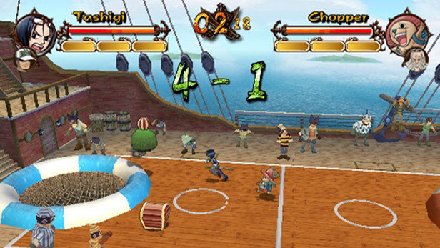 One Piece Grand Adventure PS2 GAME ISO Screenshot 2