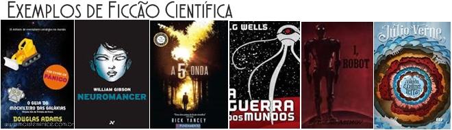 Livros de Ficção cientifica