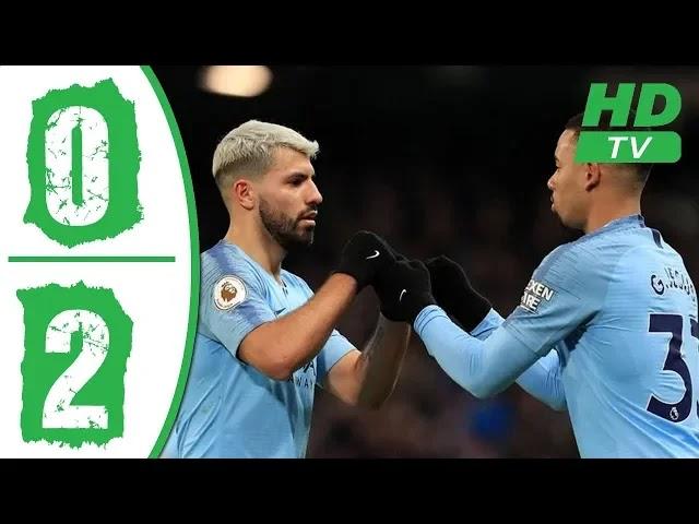 Everton vs Manchester City 0 - 2 Football Highlights and Goals 2019