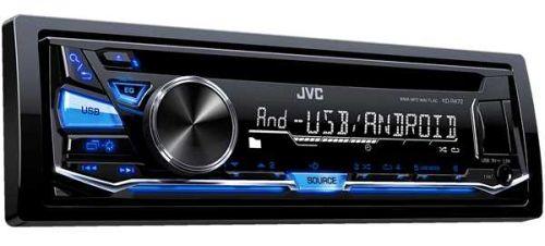 JVC autoradio met CD, USB en bluetooth