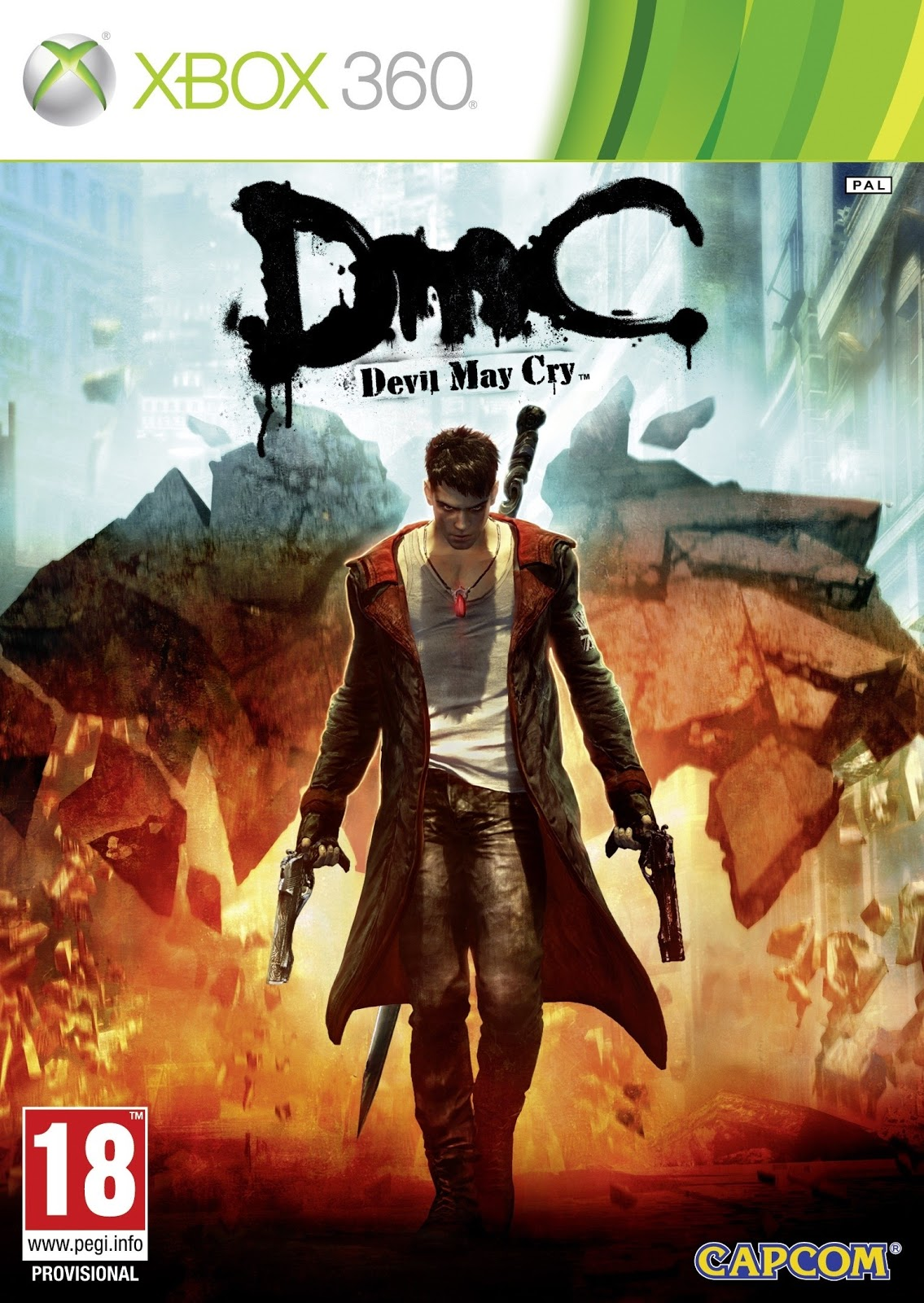 Gaming World  Dmc Devil May Cry Xbox360