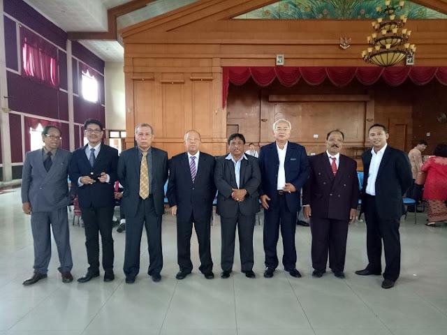 Nico Siahaan Hadiri Partangiangan dan Pesta Bona Taon PPSD Siahaan Boru Bere Ibebere Bandung Cimahi Sekitarnya