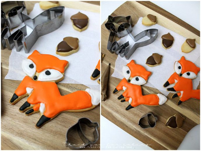 Fuchs-Cookies Fuchskekse