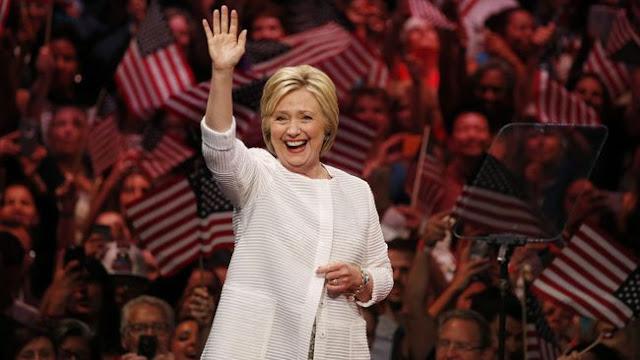 Hillary Clinton Resmi jadi Calon Presiden AS Wanita Pertama
