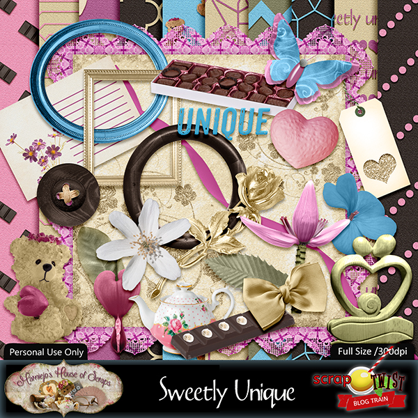 February 2019 Scrap Twist Blogtrain