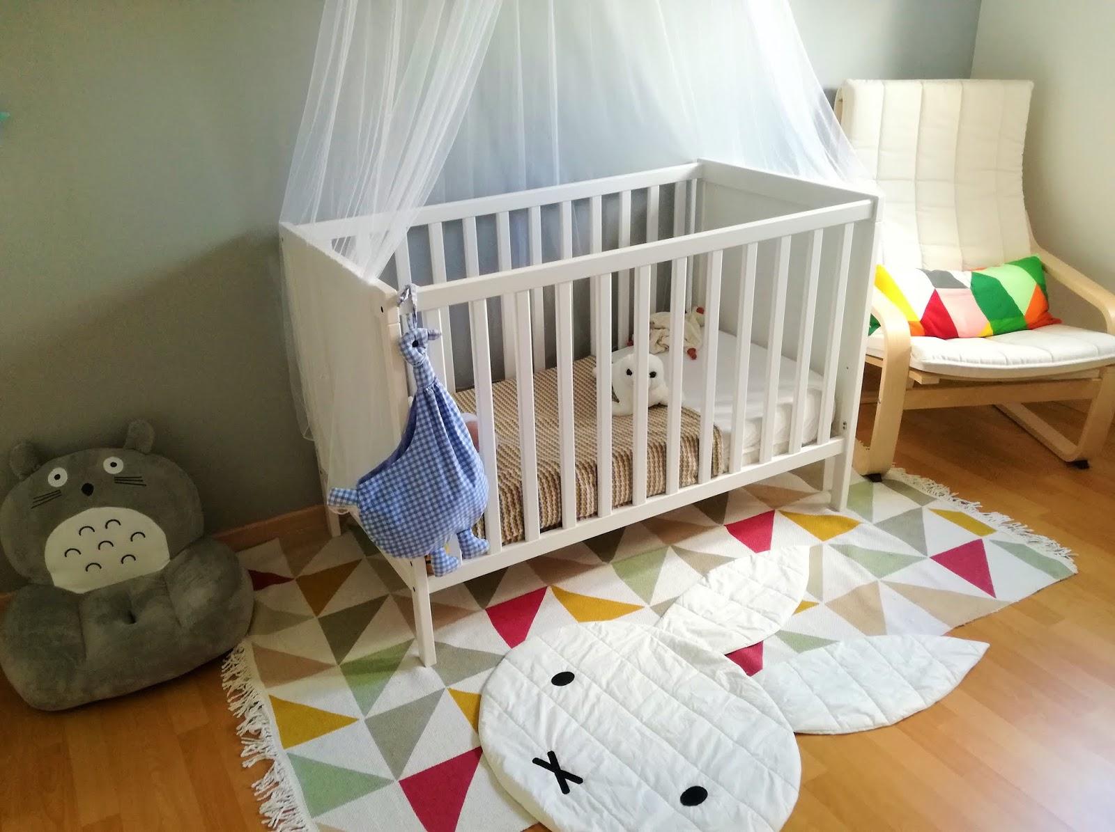 D co chambre b b scandinave et g om trique truc tricks - Deco scandinave chambre bebe ...