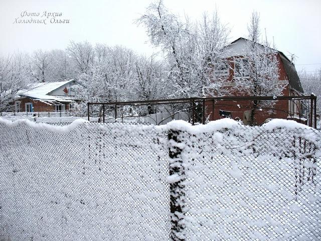 Снежные ажуры