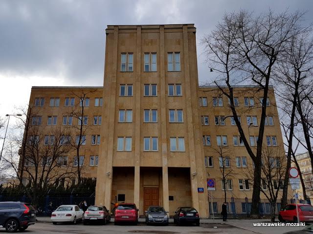 Warszawa Warsaw Żwirki i Wigury Rudolf Świerczyński Stefan Bryła modernizm