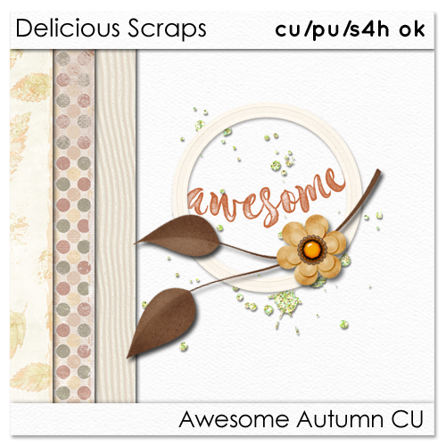 Delicious Scraps: • New Awesome Autumn CU and Re-Uploads •