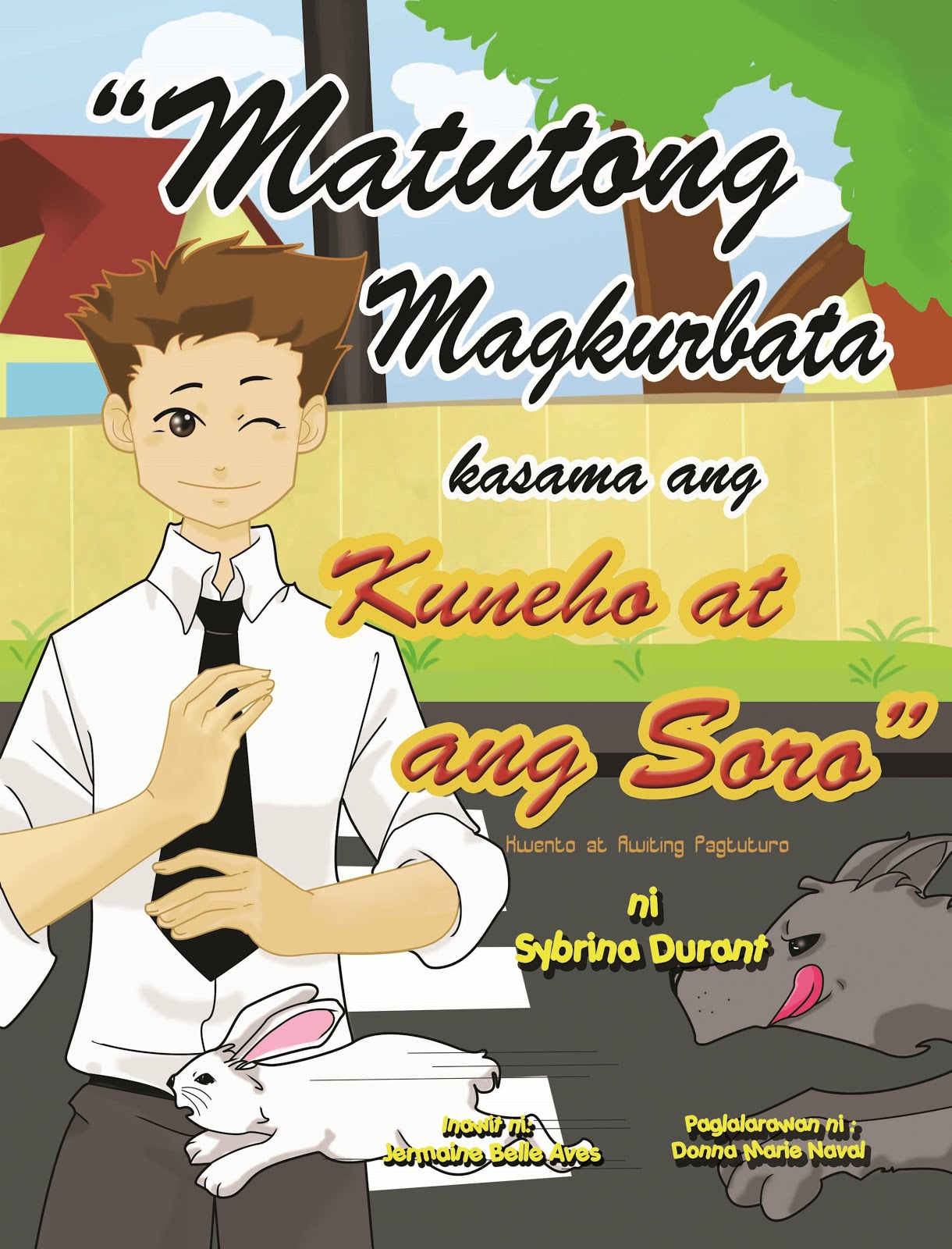 Learn To Tie a Tie With The Rabbit and the Fox - Tagalog
