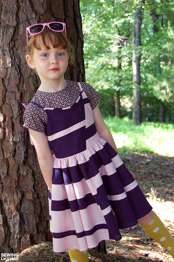 8ea4f05cfd5 The theme this first week is a remix of the free popover sundress pattern  from Oliver + s.