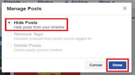 Cara Menyembunyikan Semua Status di Kronologi Facebook Terbaru