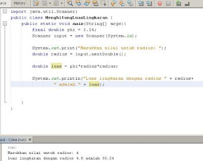 Memahami Dasar Constants Dalam Java