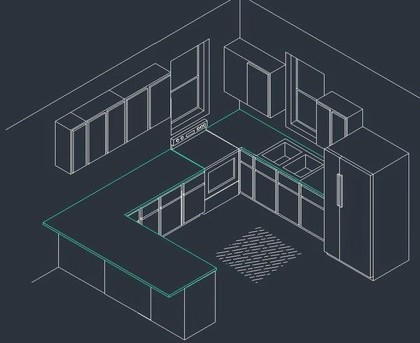 Belajar AutoCad : Teknik Menggambar Isometrik | Belajar Desain Grafis