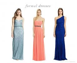 What To Wear Formal Wedding