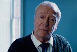 Michael Caine as Alfred Pennyworth in The Dark Knight Rises (2012)