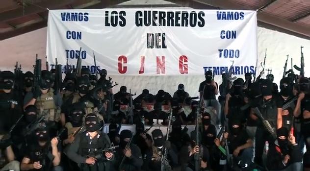 """Y el CJNG amenaza con """"limpia"""" Martes rojo en Guanajuato: ejecutan a nueve personas y el CJNG anuncia """"limpia"""""""