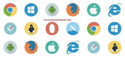 perangkat lunak internet (web browser)