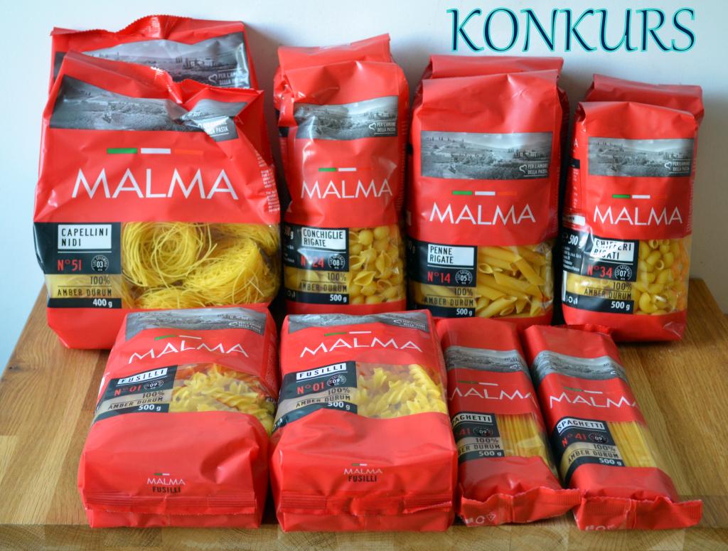 Konkurs-Malma Konkurs - Makaron wegetariański we włoskim stylu