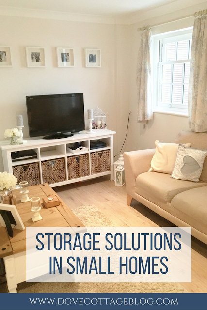 Tips on how to maximise space and solve storage issues in small homes, houses, living spaces, flats and apartments.