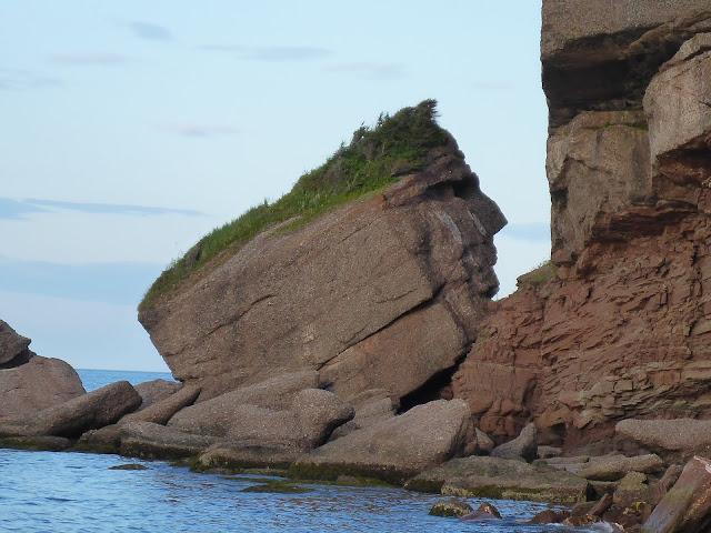 tête d'indien Pointe Saint-Piere Québec