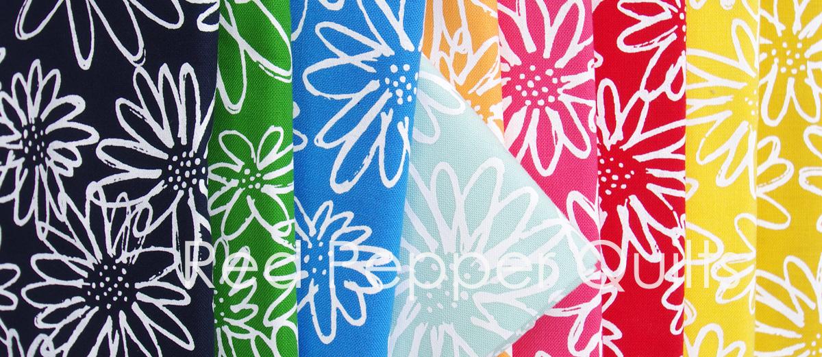 Blueberry Park by Karen Lewis for Robert Kaufman Fabrics | Red Pepper Quilts 2015