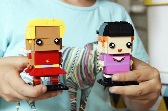 Lego birck headz