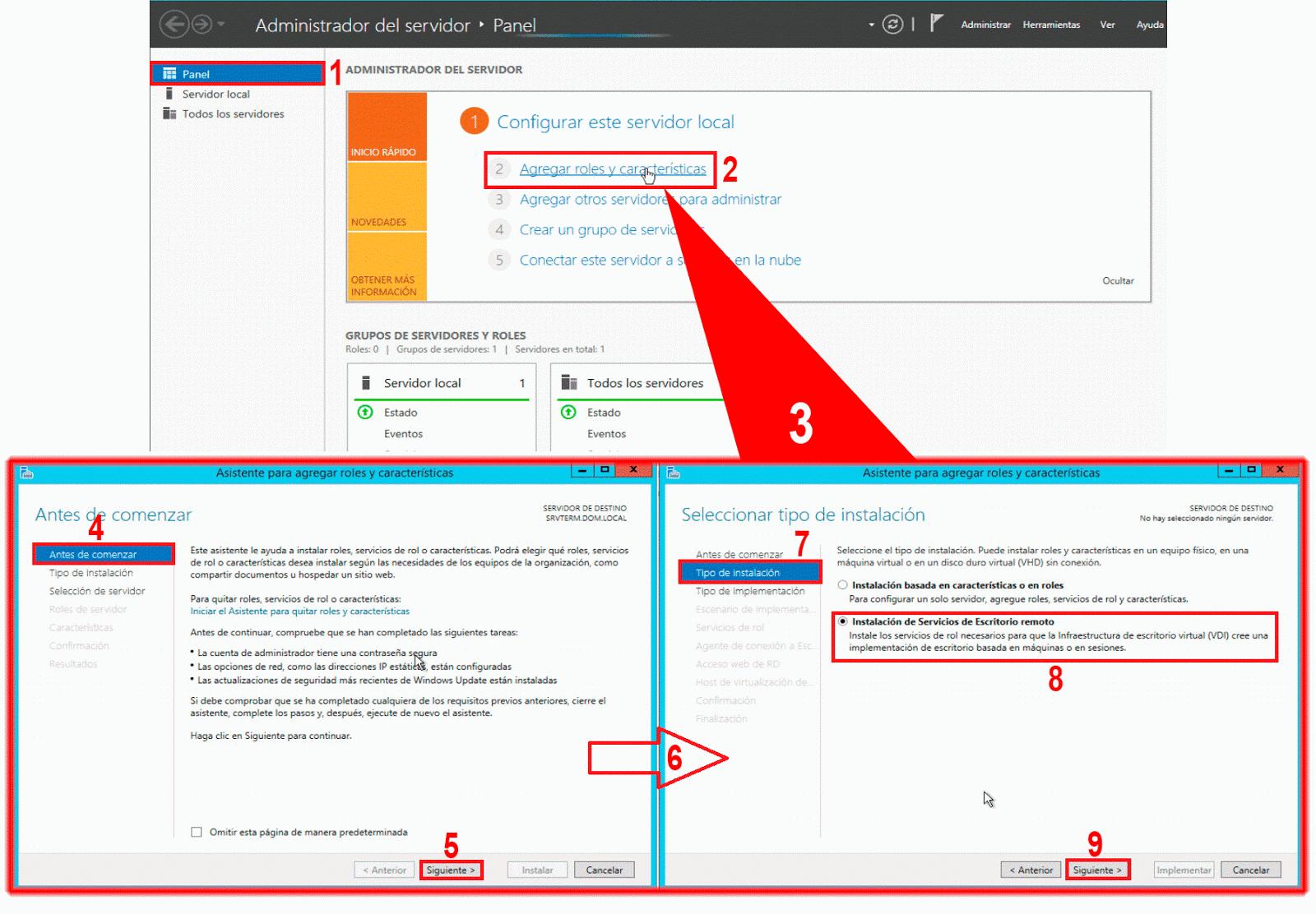 Pantallazos.es: Windows 2012 R2: Instalación de servicios de ...