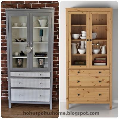 Ikea Hemnes witryna