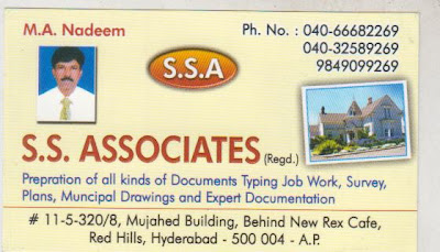 Document Writers Red Hills Hyderabad