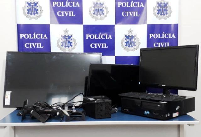 Chapada: Menor é apreendido após furtar equipamentos de PSF e Policlínica de Livramento