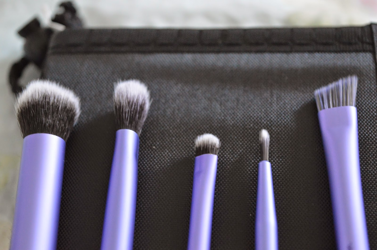Real techniques brushes starter set