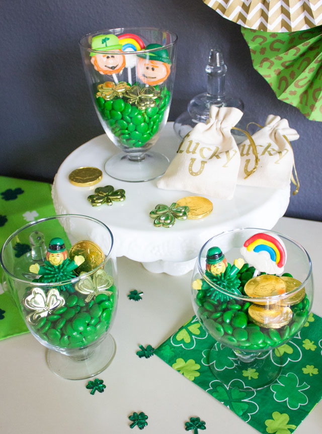 Love this simple St. Patrick's Day craft idea!