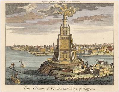 ประภาคารฟาโรแห่งอเล็กซานเดรีย (Pharos of Alexandria, Lighthouse of Alexandria)
