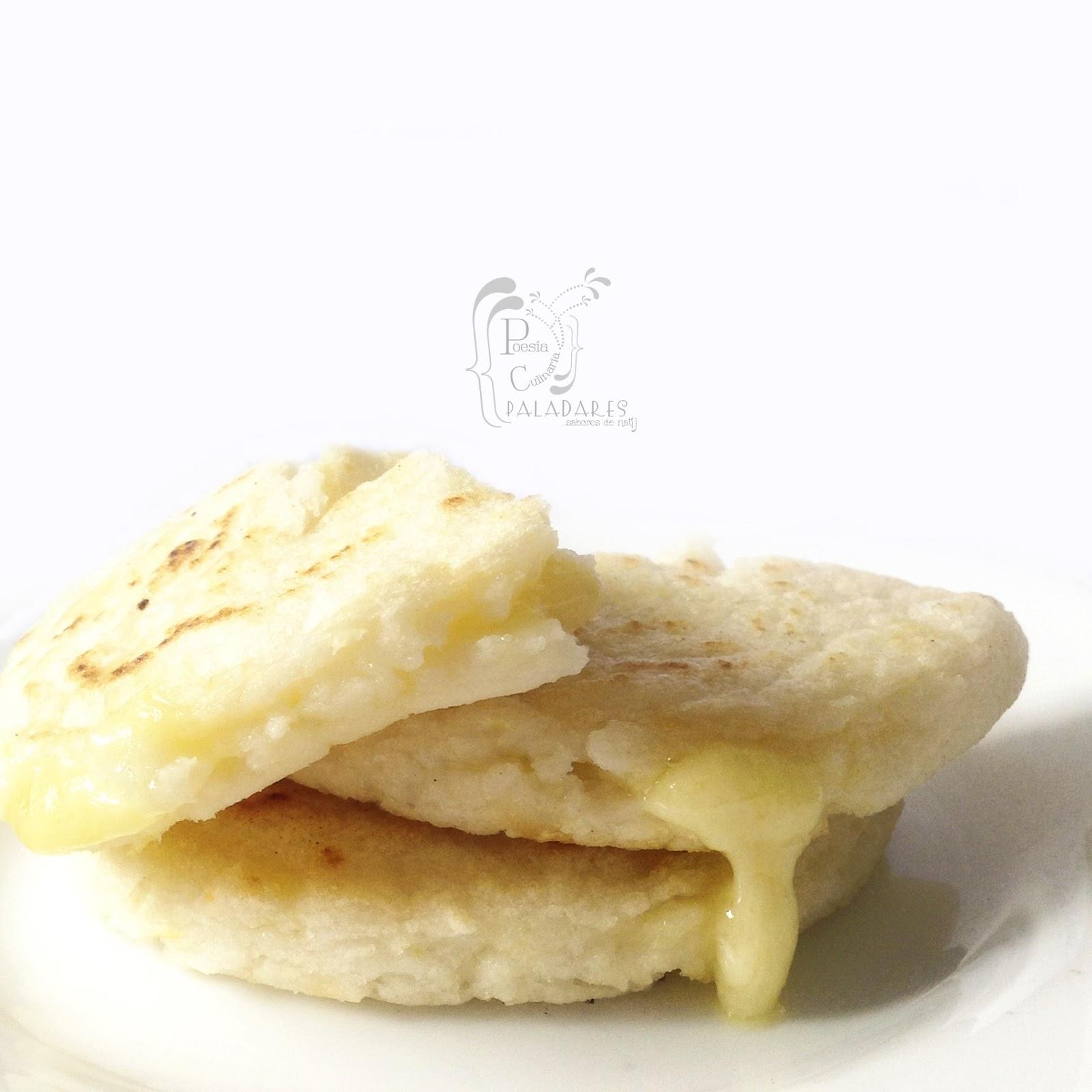 Poesía Culinaria Sabores De Nati Arepas De Peto Arepas De Maíz Blanco Básicas Y Con Queso
