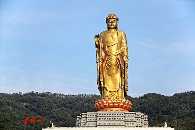 Buda del Templo de Primavera en China, la estatua mas alta del mundo