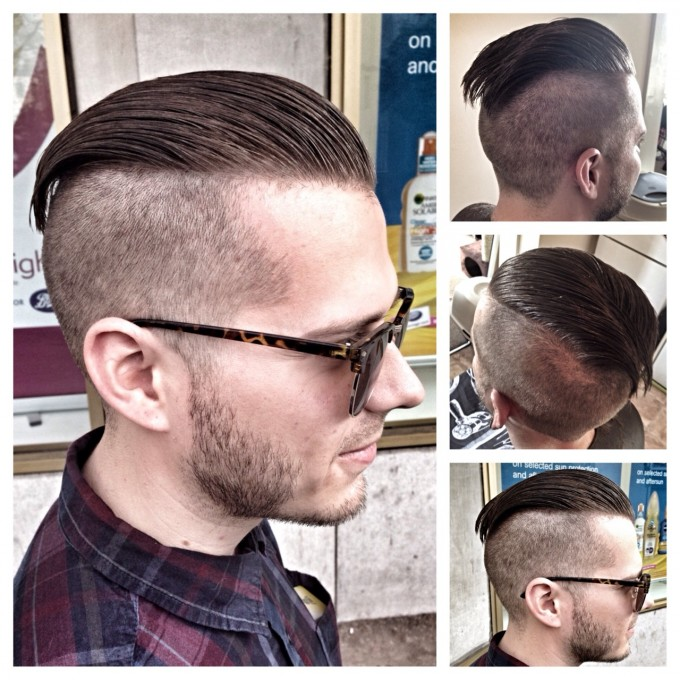 Cool Undercut For Men.