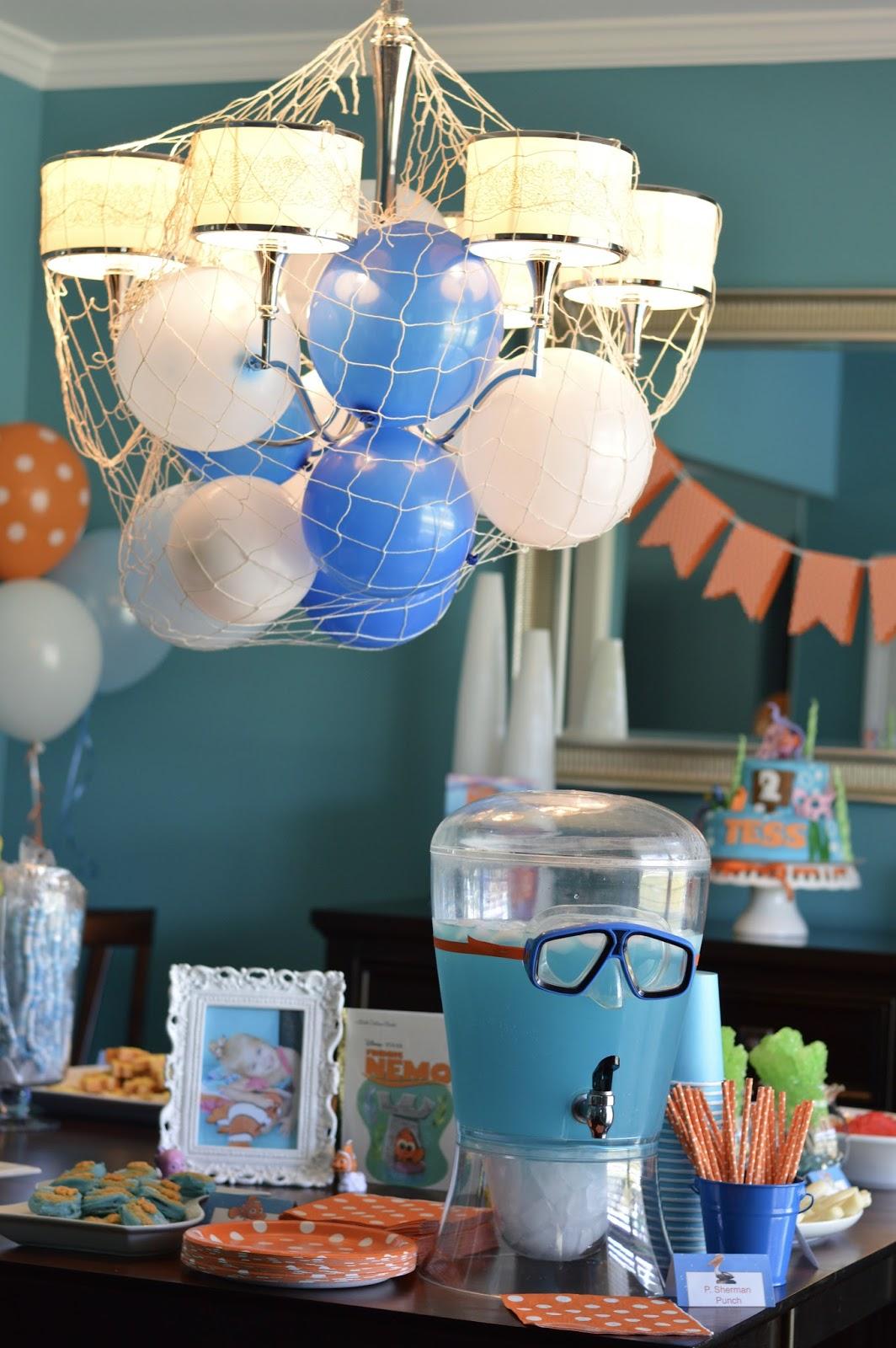 Finding Nemo birthday party