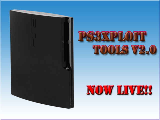 Ps3Xploit Tools v2 0 - Improved Flash Writers & Dumpers install PS3