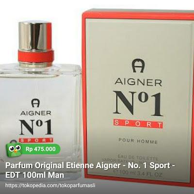 toko parfum asli parfum original etienne aigner no.1 sport edt 100ml man