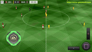 Download FTS 15 Mod EURO 2016 FIFA Edition By KND16 Apk + Data